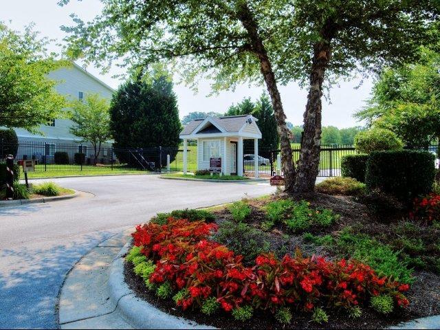 Unique Landscape Design at Broadstone Village Apartments, High Point, 27260