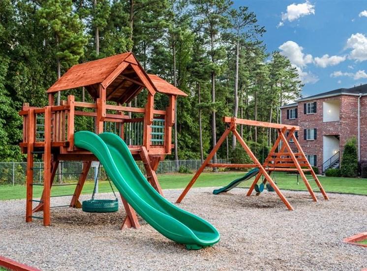 Children's Play Area at Hidden Creek Village Apartments, North Carolina, 28314