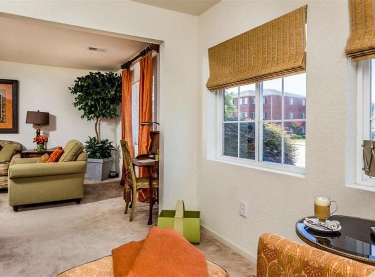 Beautiful Window Coverings at Hidden Creek Village Apartments, North Carolina