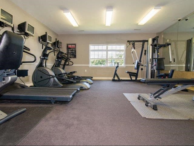 Fully Equipped Fitness Center at Deer Meadow Village Apartments, Columbia, SC, 29209