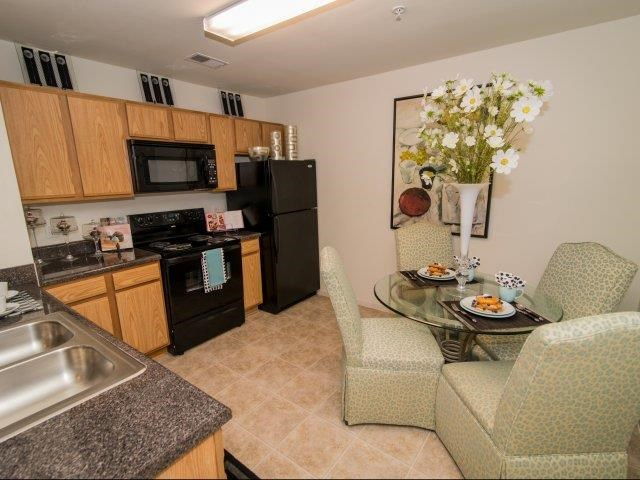 Fully Equipped Kitchen at Deer Meadow Village Apartments, Columbia