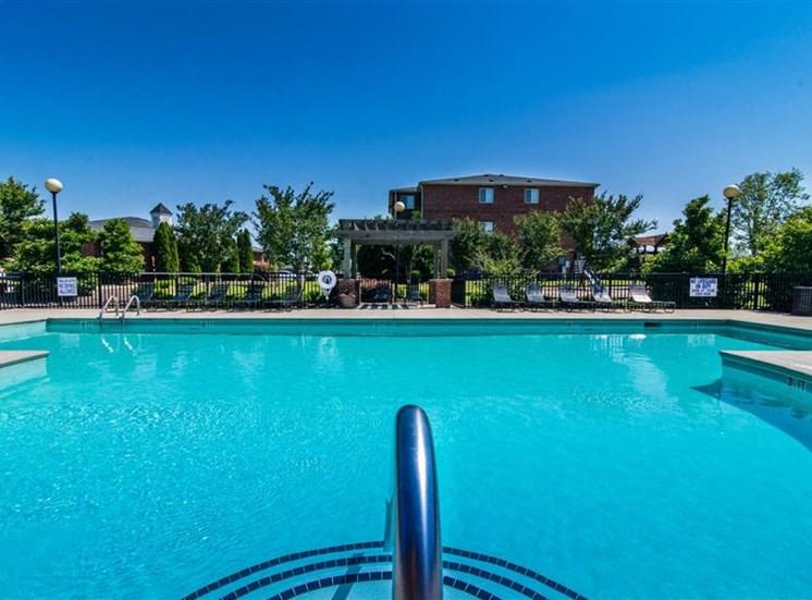 Refreshing Pool at Deer Meadow Village Apartments, Columbia, South Carolina
