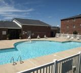 Pool With Custom Steps at Deer Meadow Village Apartments, South Carolina