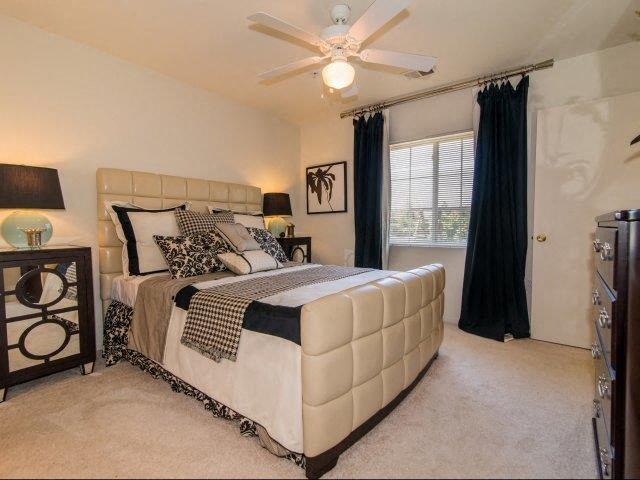 Upgraded Bedroom Interiors at Deer Meadow Village Apartments, South Carolina