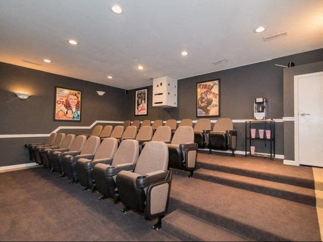 Movie Theater at Deer Meadow Village Apartments, South Carolina