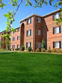 Landscaping of Lush Green Lawn at Deer Meadow Village Apartments, Columbia, 29209