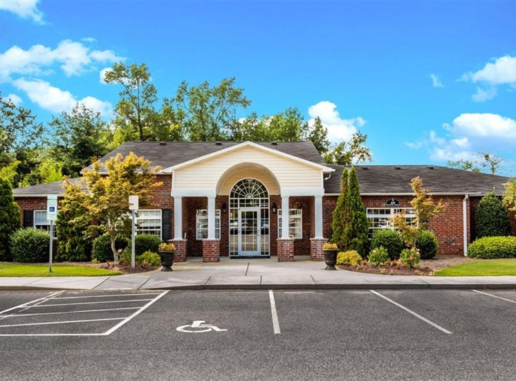 Spacious Off-Street Parking at Eagle Point Village Apartments, Fayetteville, North Carolina