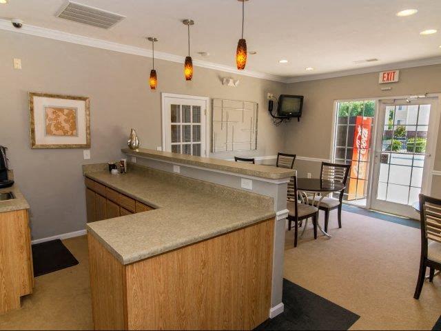Community Clubhouse at Cedarcrest Village Apartments, South Carolina