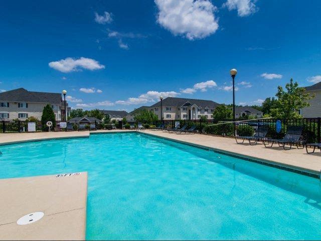 Resort-Inspired Pool at Cedarcrest Village Apartments, Lexington, SC