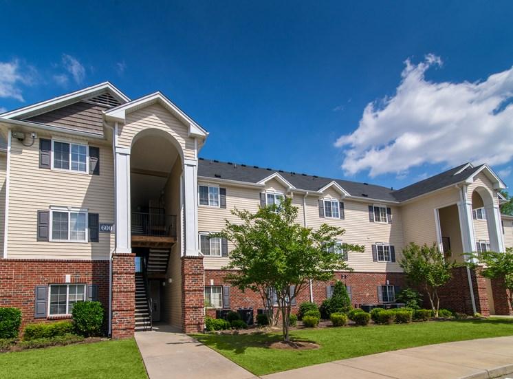 Beautiful Brick Constructed Apartment Complex Exterior at Cedarcrest Village Apartments, Lexington, South Carolina