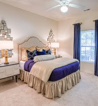 Master Bedroom at Cobblestone Village Apartments in Summerville, SC