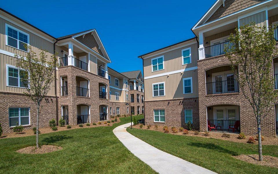 External Apartment View at Millis and Main at Grandover, North Carolina, 27282