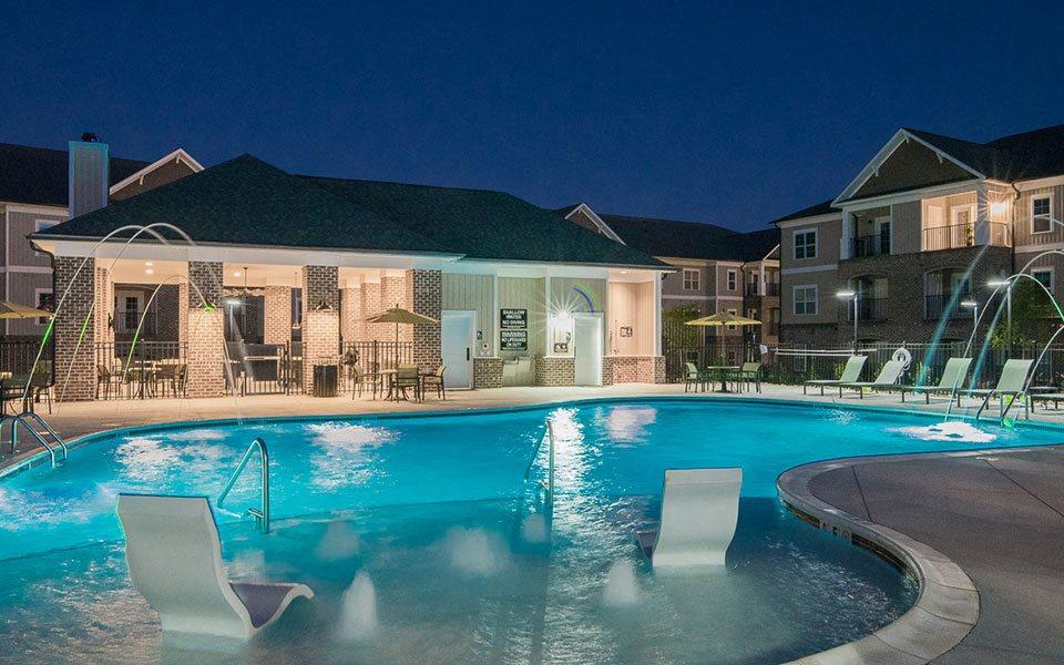 Pool at Millis and Main at Grandover, Jamestown