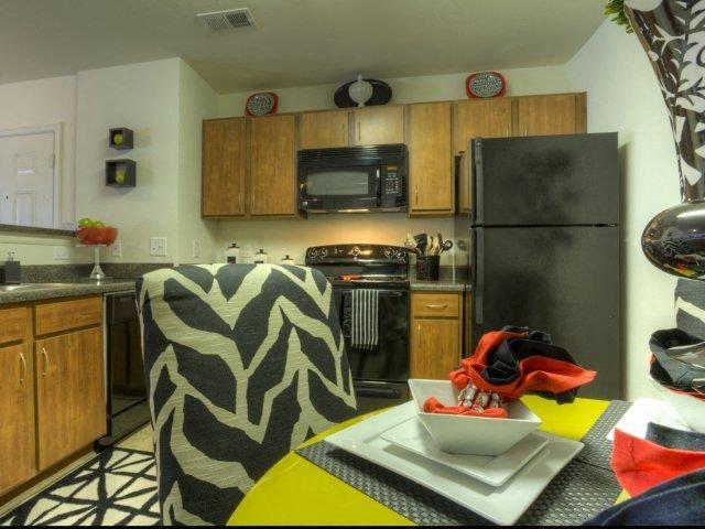 Eat-in Kitchen at Berrington Village Apartments, Asheville, NC, 28803