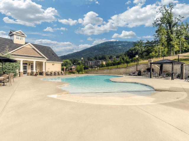 Resort-Inspired Pool at Berrington Village Apartments, Asheville, 28803