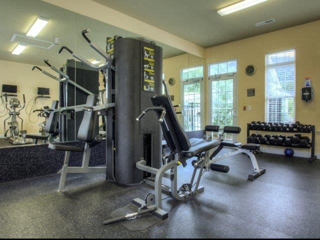 State-of-the-Art Fitness Center at Berrington Village Apartments, Asheville, 28803