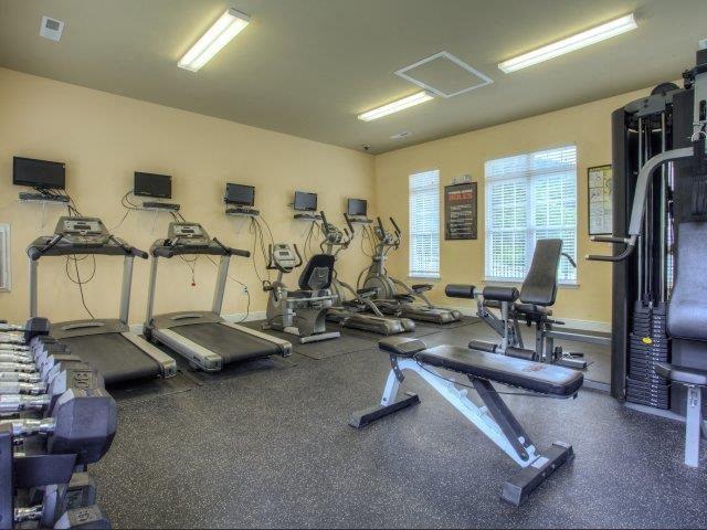 Fitness Center at Berrington Village Apartments, Asheville, NC, 28803