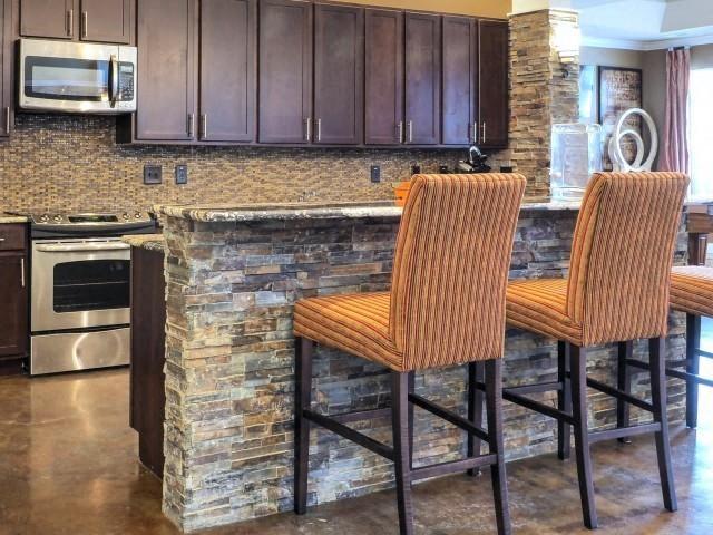 Kitchen Detail at Amberton at Stonewater, Cary, NC, 27519