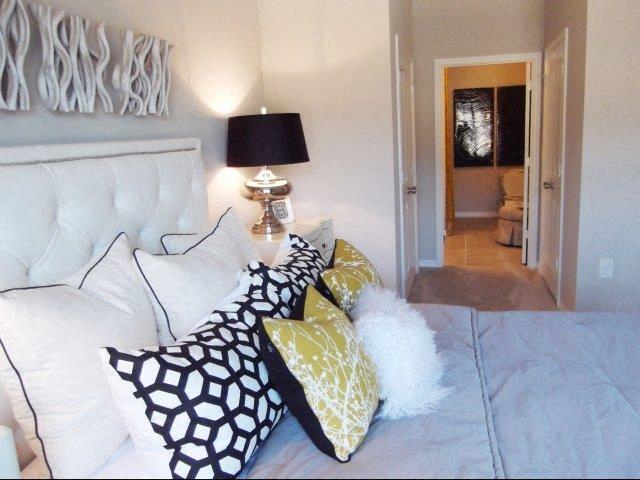 Trendy Bedroom Interior Design at Amberton at Stonewater, Cary, NC