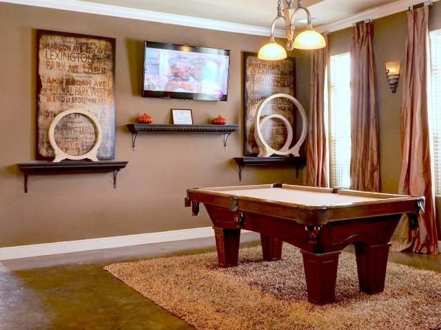 Billiard Lounge at Amberton at Stonewater, Cary, 27519
