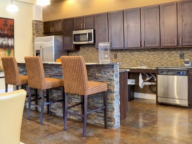 Large Eat-In Kitchen at Amberton at Stonewater, North Carolina