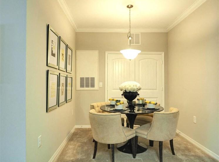 Luxurious Formal Dining Room at Amberton at Stonewater, Cary, North Carolina