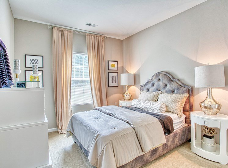 interior view of bedroom at apartments