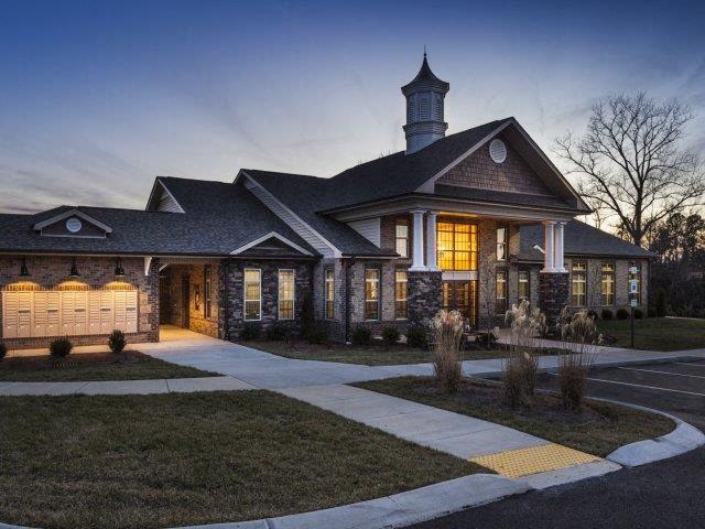 Entrance with Architectural Details at Adeline at White Oak, Garner, NC, 27529