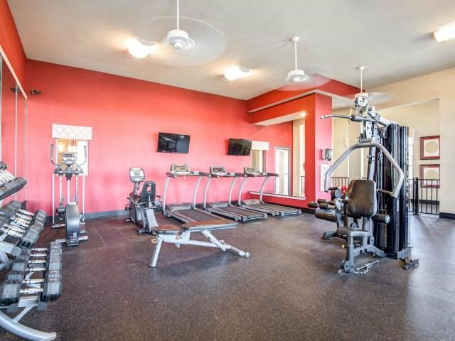 Fully Equipped Fitness Center at Adeline at White Oak, Garner, NC, 27529