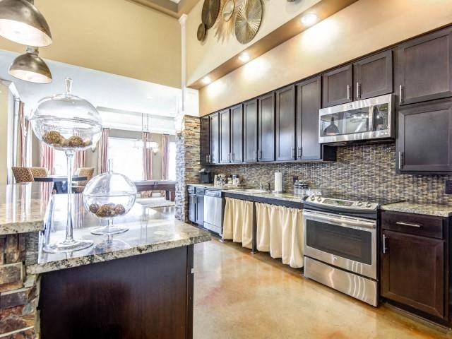Large Community Kitchen at Adeline at White Oak, Garner, 27529