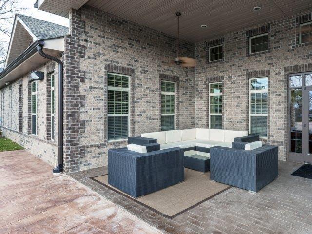 Outdoor Sitting Area at Adeline at White Oak, Garner, NC