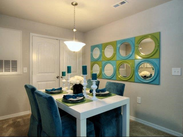 Separate Dining Area at Innisbrook Village Apartments, Greensboro, NC, 27405