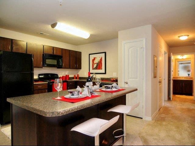 Sleek Interior Finishes at Innisbrook Village Apartments, Greensboro, NC