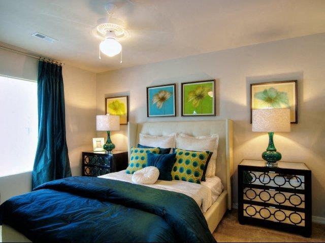 Upgraded Bedroom Interiors at Innisbrook Village Apartments, Greensboro, NC