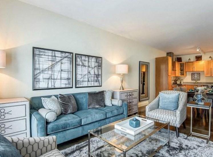 Classic Living Room Design at NorthPoint at 68, North Carolina, 27265