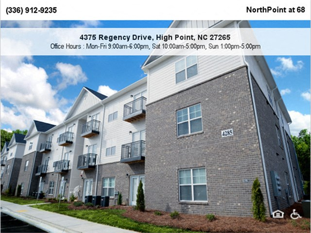 Renovated Apartment Homes Available at NorthPoint at 68, High Point, NC