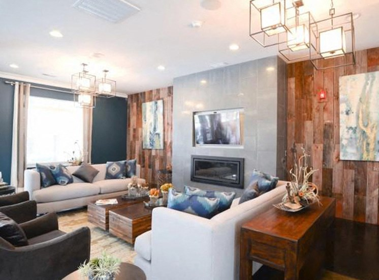 Resident Lounge With Upgraded Interiors at NorthPoint at 68, North Carolina, 27265