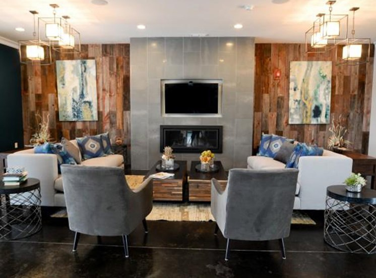 Resident Lounge Interior Design at NorthPoint at 68, High Point, NC, 27265