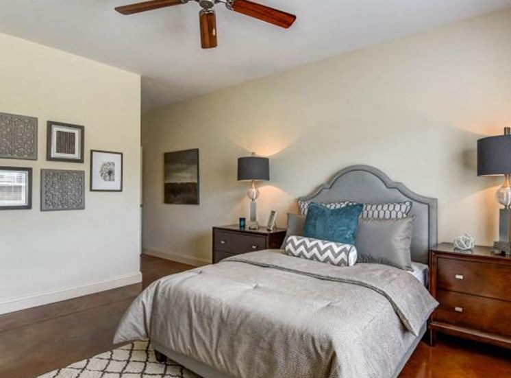 Trendy Bedroom at NorthPoint at 68, High Point