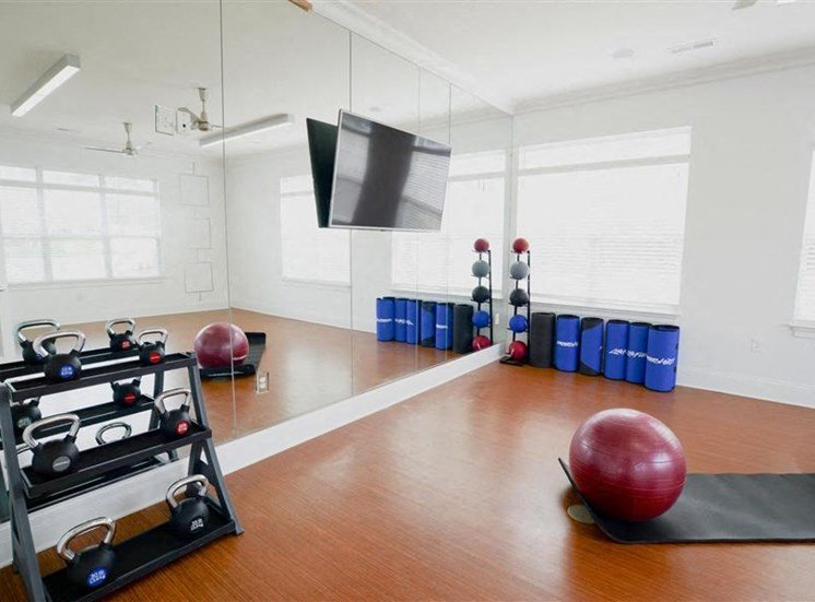 Updated Fitness Equipment at NorthPoint at 68, High Point, North Carolina