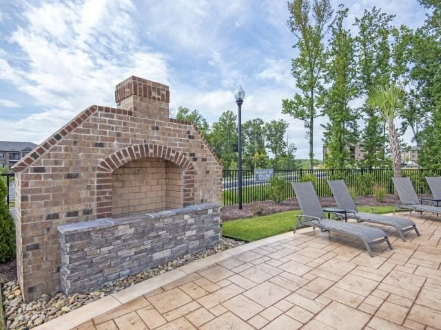 Poolside Grilling Area at Maystone at Wakefield, Raleigh, 27614