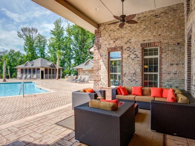 Open-Air Lounge at Maystone at Wakefield, North Carolina, 27614