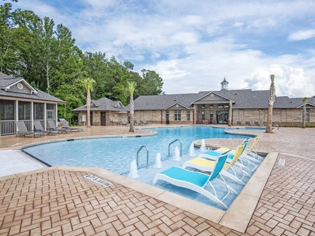 Pool Side Relaxing Area at Maystone at Wakefield, Raleigh, NC, 27614