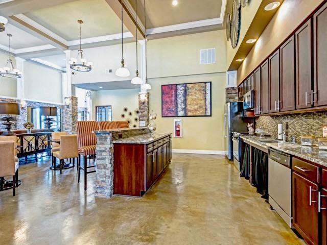 Gourmet Community Kitchen at Village at Town Center, Raleigh, North Carolina