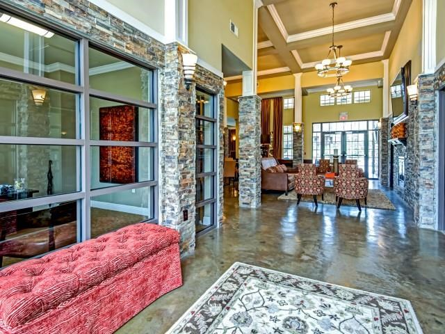 Stylish Front Lobby at Village at Town Center, Raleigh, NC, 27616