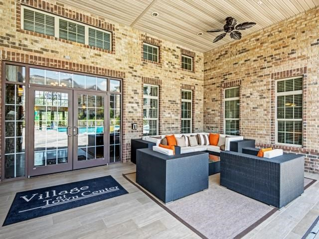 Resident Lounge at Village at Town Center, North Carolina, 27616