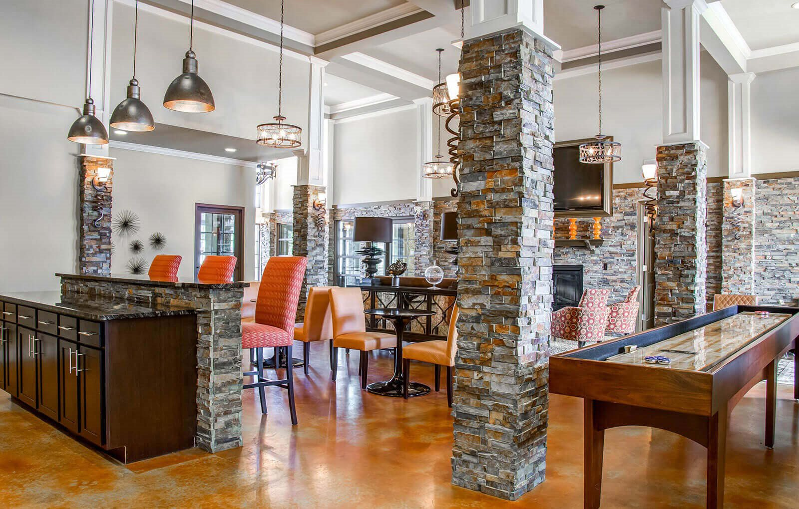 Glass Creek Clubhouse Interior