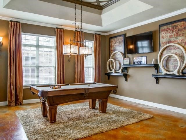 Game Room with Billiard at Glass Creek Apartments, Mt Juliet, 37122