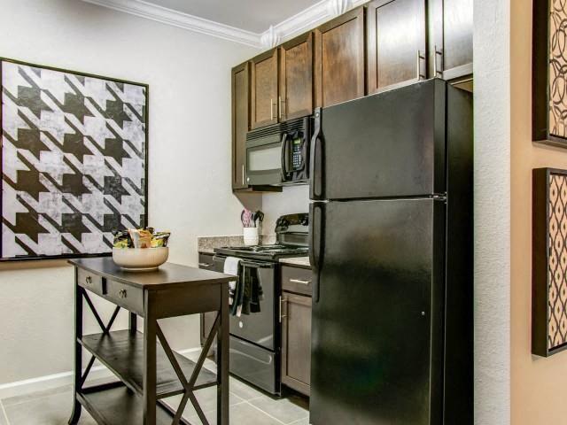 Black EnergyStar Appliances at Glass Creek Apartments, Mt Juliet