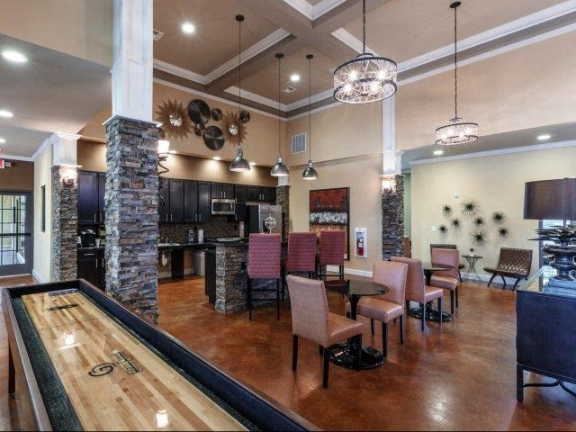 Game Room with Shuffleboard at Glass Creek Apartments, Mt Juliet, 37122